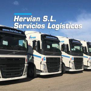 Nuevas cabezas tractoras Volvo de Hervian