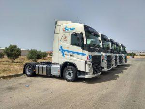 cabezas tractoras hervían Volvo