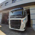 Nueva cabeza tractora de Volvo adquirida por Hervian S.L.