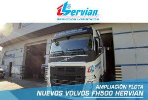 cabezas tractoras Volvo FH500