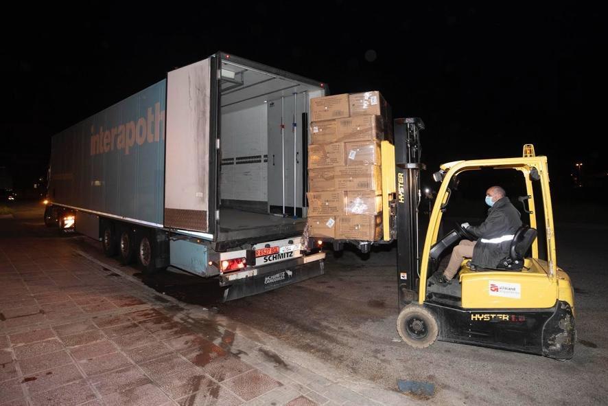 Hervian ayuda a las administraciones contra el Covid-19 con el transporte de medicamentos y mascarillas